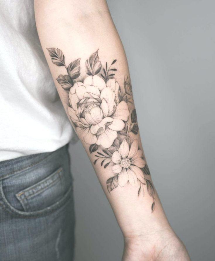 Arm blumen tattoos Best 51+