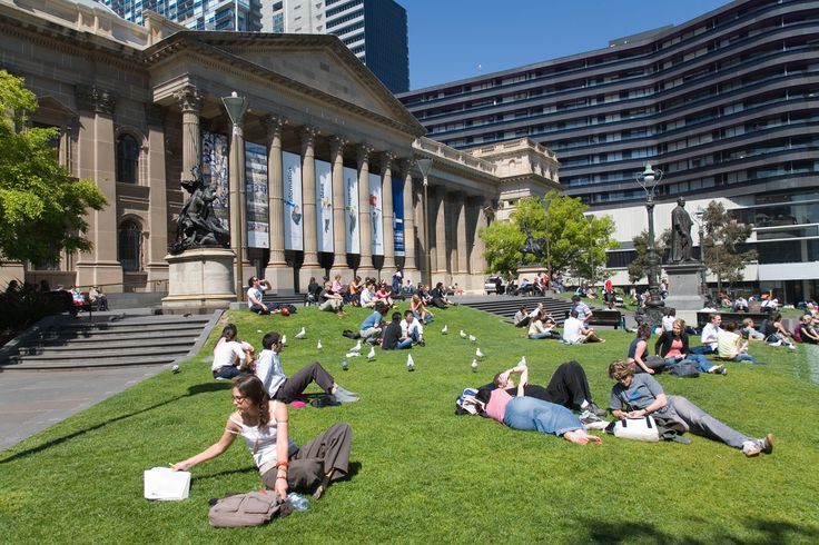 The State Library of Melbourne where F W Boreham did much of his research.