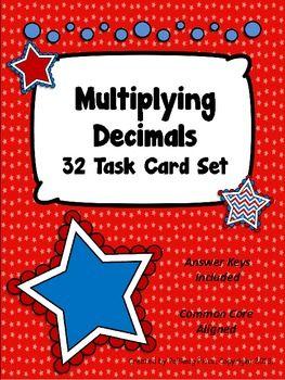 Decimal Task Cards $