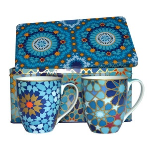 Tin Mouch Mug Set Of 2, $45.95, now featured on Fab.