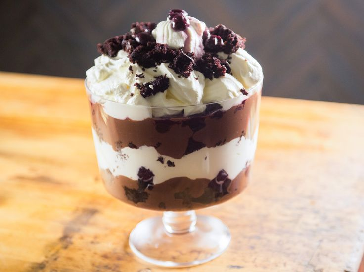 Black Forest Trifle recipe from Katie Lee via Food Network