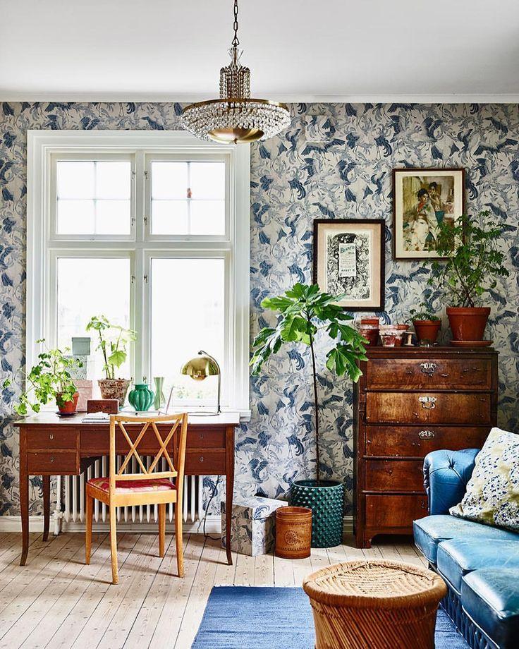 """2,022 gilla-markeringar, 11 kommentarer - ELLE Decoration Sverige (@elledecorationse) på Instagram: """"Det är ingen hemlighet att vi fullkomligt ÄLSKAR vår bloggare @krickelin 's hem – och hennes…"""""""