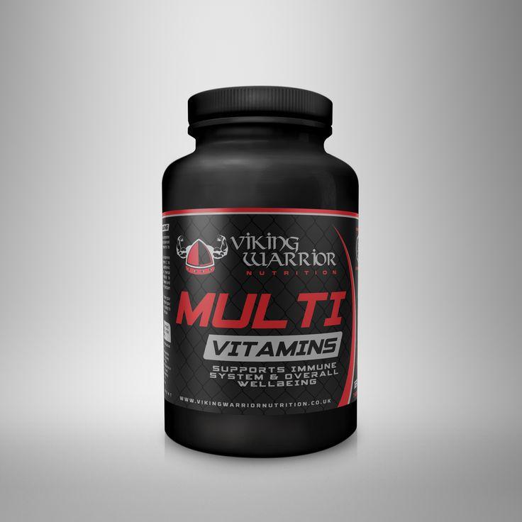 Multivitamins 120 Tablets - Viking Warrior Nutrition