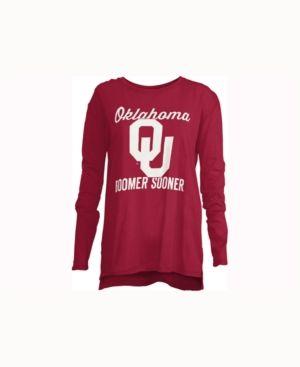 Royce Apparel Inc Women's Oklahoma Sooners Noelle Long-Sleeve T-Shirt - Red M