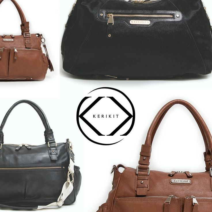 Stylish designer handbags which are baby changing bags. Don't comprise on fashion for functionality and practicality. KeriKit designer baby changing bags are a perfect gift for Mothers Day.