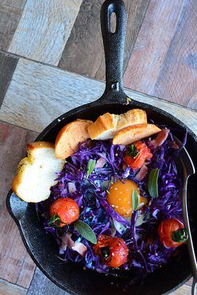 オトナ色巣ごもり卵 二日間分の スキレット料理02 レシピブログ