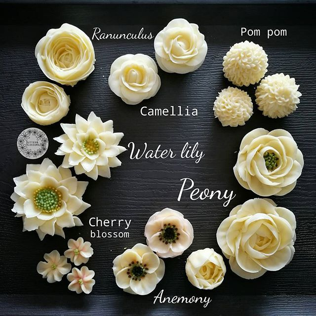 Cake Decorating Icing For Flowers : Best 25+ Buttercream flowers ideas on Pinterest ...