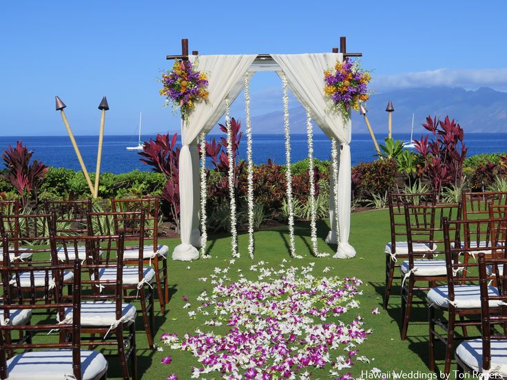 37 best royal lahaina resort west maui oceanfront wedding for Front royal wedding venues