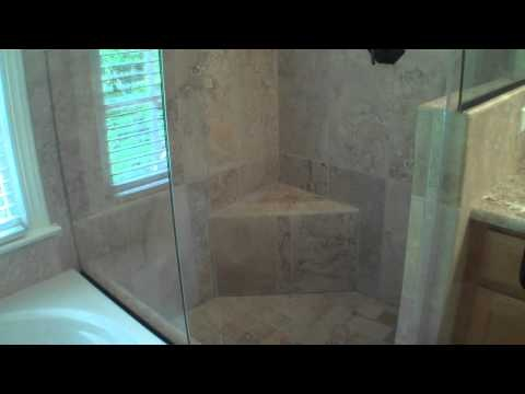 The Corner Shower: Bathroom Remodel