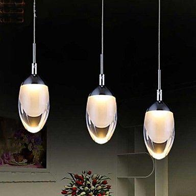 Lampe suspendue LED Contemporain Salle de séjour/Chambre à coucher/Salle à manger/Cuisine/Bureau/Bureau de maison/chambre d'enfants Métal – EUR € 104.54