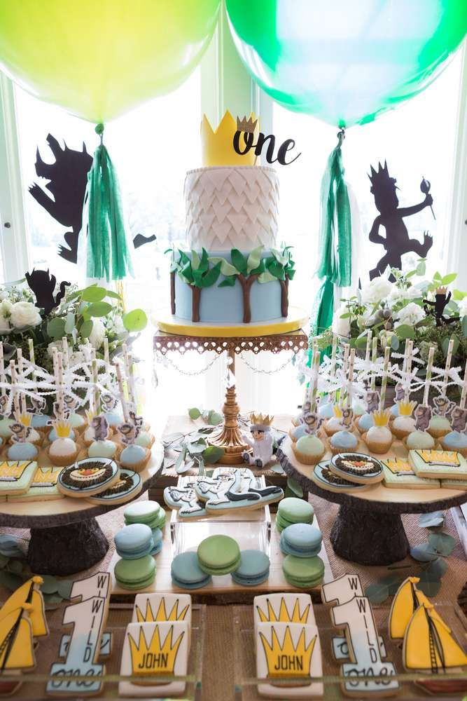 Where The Wild Things Are Birthday Party Ideas