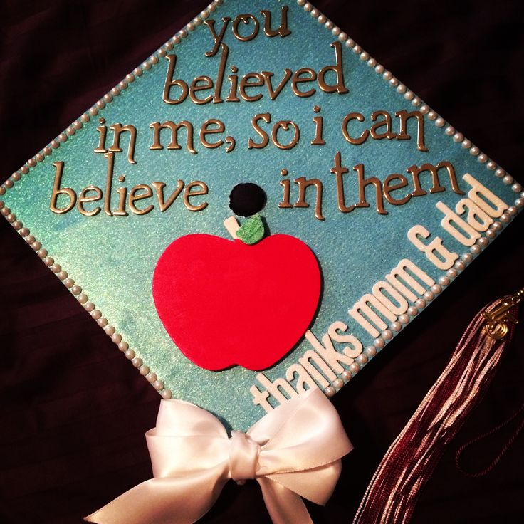 Teacher graduation cap - class of 2015