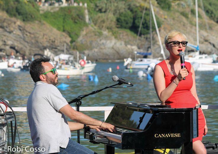 Prove per l'Andersen Festival alla Baia delle Favole di Sestri Levante con @Arisa e gli #QnuQuartet.