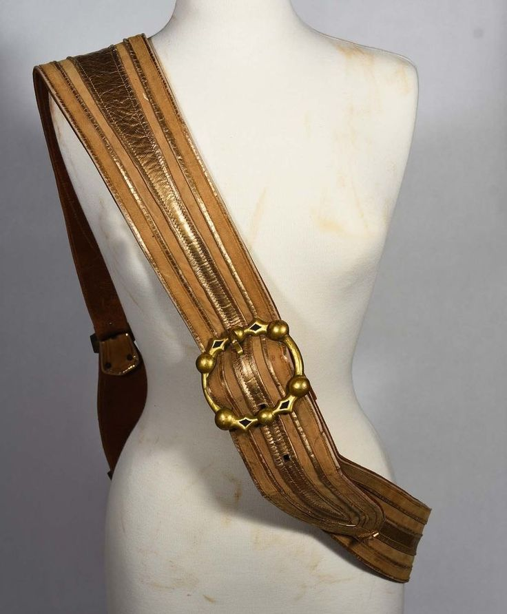 The Three Musketeers 1948 MGM Movie Costume Leather Belt - Gig Young - Porthos