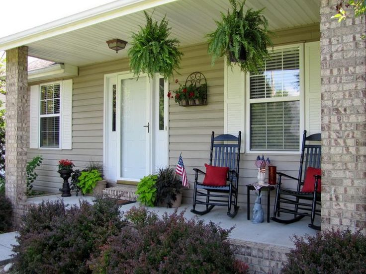 Great Front Porches | Front Porch Decorating Ideas | MapSoul Part 27
