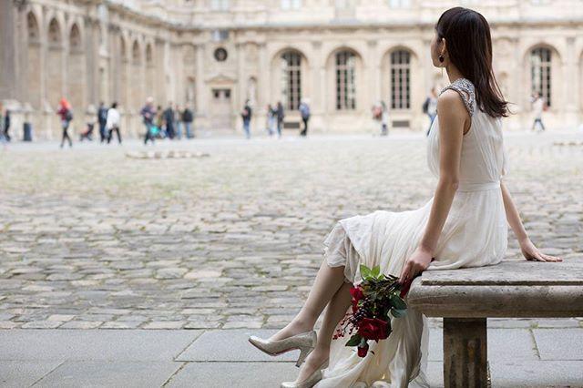 photo by @kzk32 * ルーヴル美術館の広場💕 * パリウェディングフォトまとめタグ #nemuweddingparis * * #weddingphotography #paris #instawed #mussedulouvre #beautifulview #retrip_global #retrip #instatravel #louvre #Jennypackam