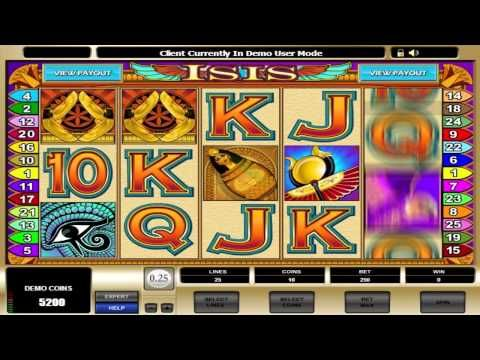 Gems of Isis Slot - Play Free Galewind Casino Games Online