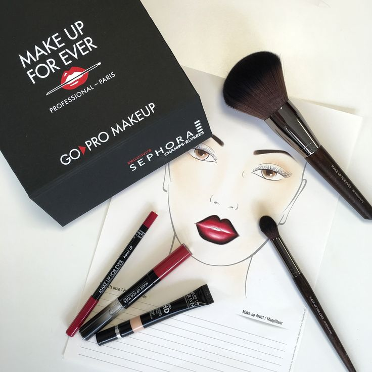 Discover GO PRO MAKEUP. The exclusive concept created by MAKE UP FOR EVER in exclusivity at SEPHORA Champs Elysées Paris https://youtu.be/nmIhHE9rcXM #gopromakeup #makeupforever #makeuptrends