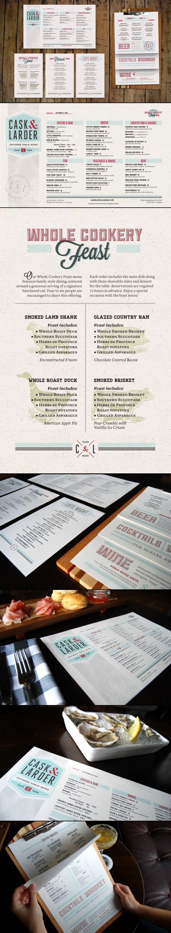 60 best EDITORIAL / Menu images on Pinterest | Brand identity design ...