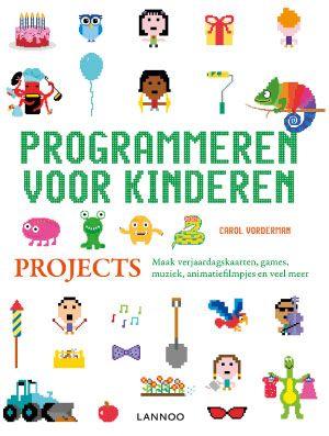 Doelgroep: Vanaf 6 jaar (Als papa of mama mee wil helpen). Anders wanneer het kind vlot zelfstandig kan lezen. Titel: Programmeren voor kinderen, Projecten Schrijver: Jon Woodcock – voorwoord…
