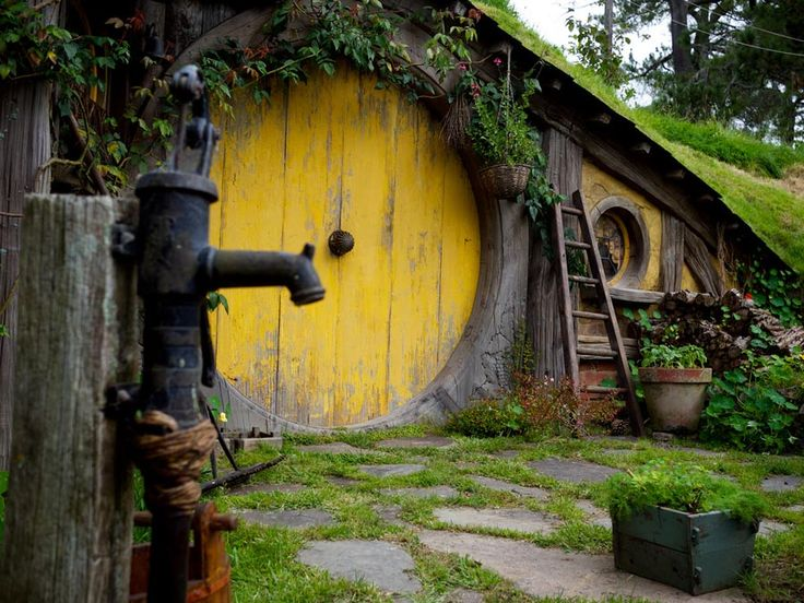 hobbiton so cute hobbit homethe - Lord Of The Rings Hobbit Home