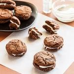 Chocolate peppermint cookies | Delicieux