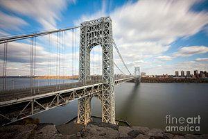Nyc Photograph - George Washington Bridge by Greg Gard