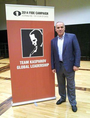 Garry Kasparov Announces Candidacy for FIDE President