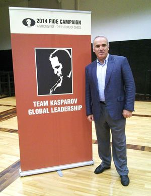 Garry Kasparov Announces Candidacy for FIDE President