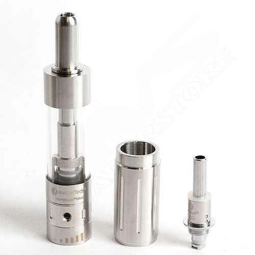 NEW Kanger Aerotank Mini Glassomizer w/ Adjustable AirFlow Stainless Steel