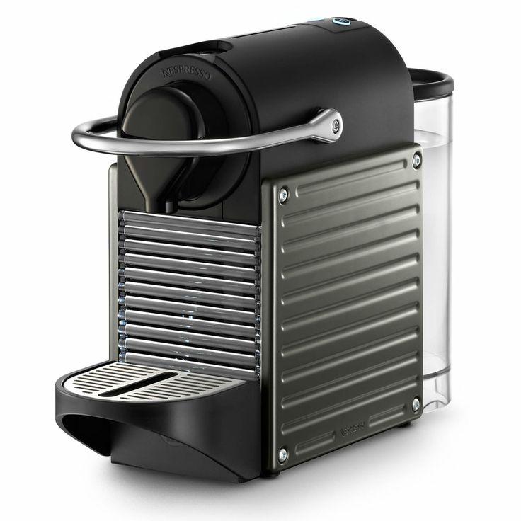 Nespresso - Pixie Coffee Maker - Titanium - NewlyWish
