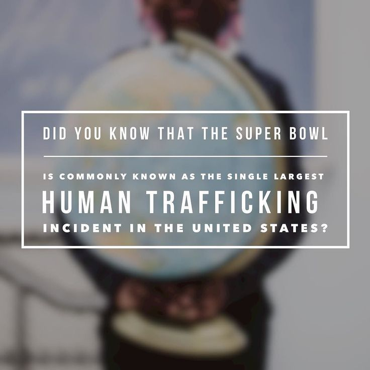"Did you know that the SUPER BOWL is commonly known as the single largest human trafficking incident in the United States? Buy a candle share this post and join us in changing these statistics. Social media can help ignite change as we spread the word and fight. Every candle sold helps to redeem restore empower and equip women who have been affected by this industry so let's work together to #endhumatrafficking ""The Super Bowl has long been a hub for trafficking and prostitution with hundreds…"