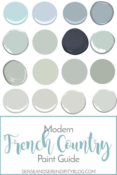 Modern french country paint guide farmhouse style for French provincial paint colors