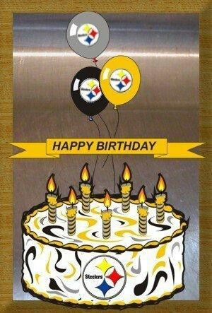 Pittsburgh Steelers~happy birthday.
