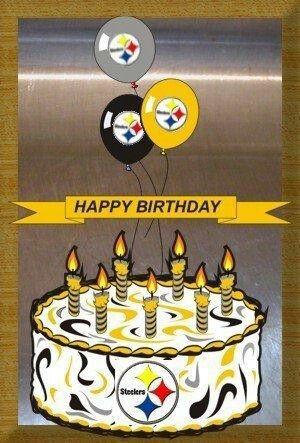 Pittsburgh Steelers~happy birthday.