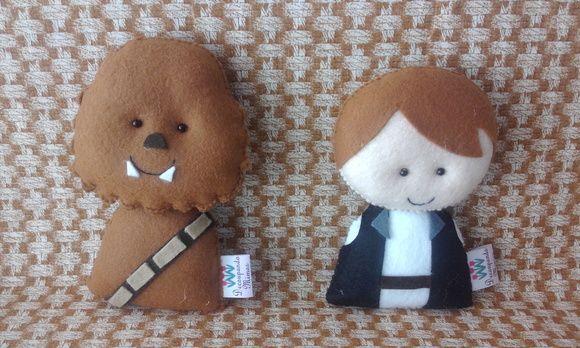 Saga Star Wars pocket em feltro