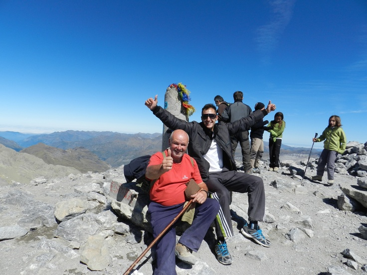 Monte Perdido 3344m