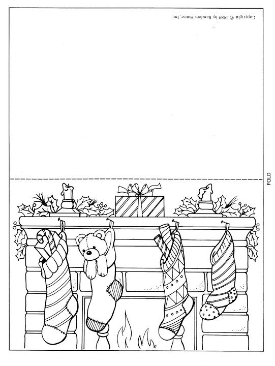 541 Best Coloring Pages Christmas Images On Pinterest