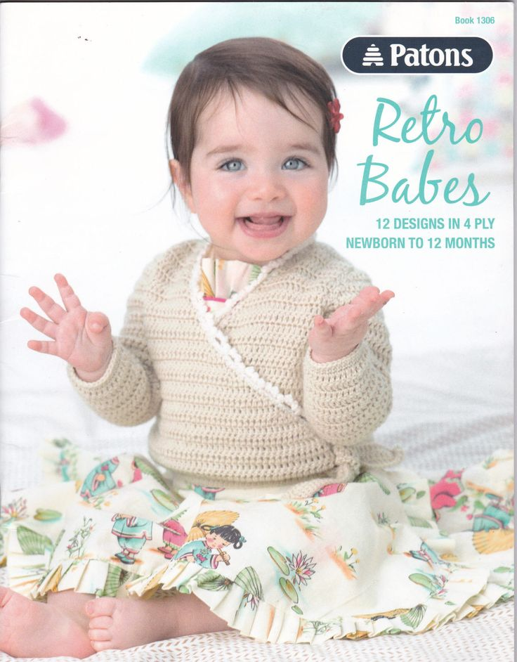 Baby Knitting Patterns Book Retro Babes 1306 Baby Girl Clothes Baby Leggings, Slippers Pattern, Knitted Toys Beanie Pattern Baby Cardigan by PatternsFromOz on Etsy