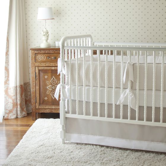 Project Nursery - Annette Tatum Kids Neutral Crib Bedding