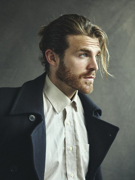 lovingmalemodels:   Ashley Radford - Monde Des Hommes - Menswear Archive http://hairsheddingenius.com/category/fear-the-beard/
