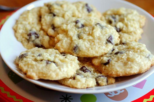 Bite me, I'm vegan: Coconut Chocolate Chip Cookies [These look to die ...