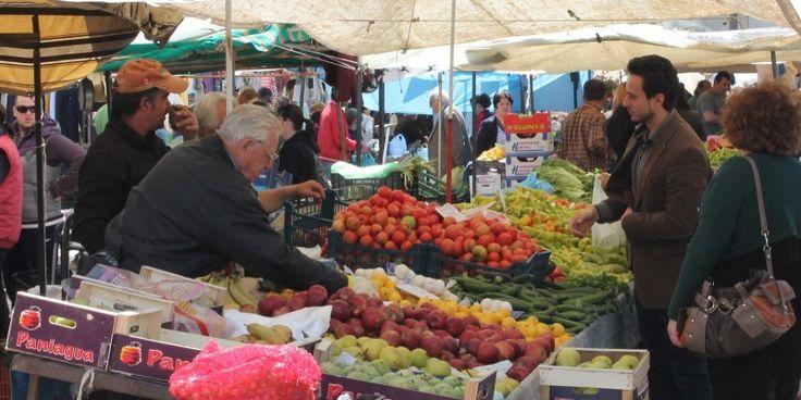 Κανονικά αύριο για τις αγορές της Καθαράς Δευτέρας η Λαϊκή Αγορά της πλατείας Βούδ