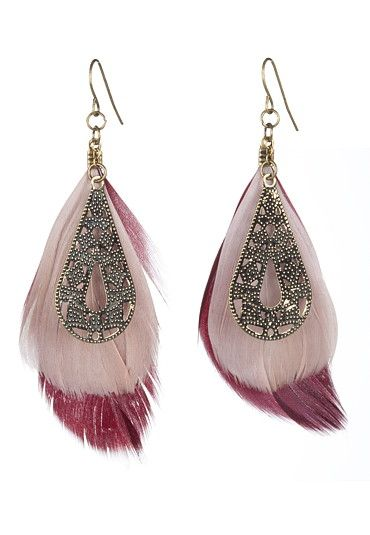 #feather #earrings