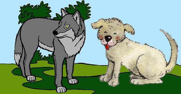 Los lobos y los perros alistándose para luchar – Fábula http://www.encuentos.com/fabulas/los-lobos-y-los-perros-alistandose-para-luchar-fabula/