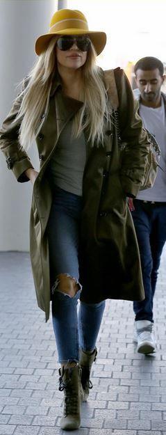Khloe Kardashian: Shoes – Balamin  Sunglasses – Porsche