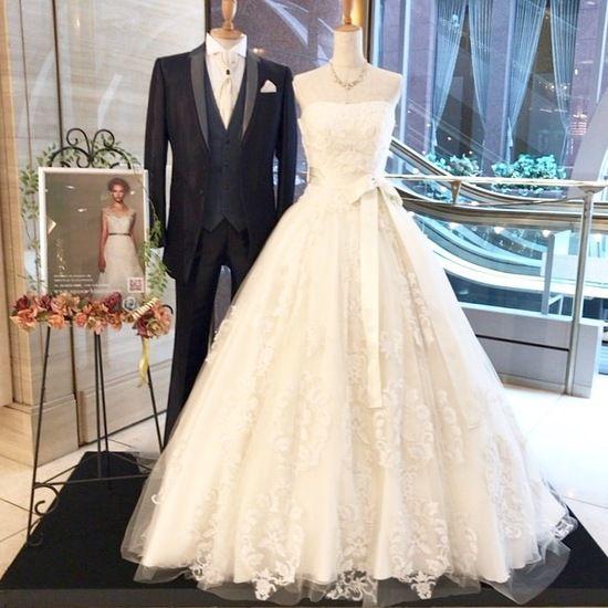 ジルスチュアート ドレス 大阪結婚式 ドレス試着