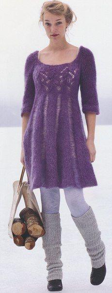 Платье со спущенными петлями La Gran - Платье,сарафан