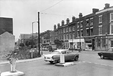 Mansfield Road and Woodborough Road 1973.