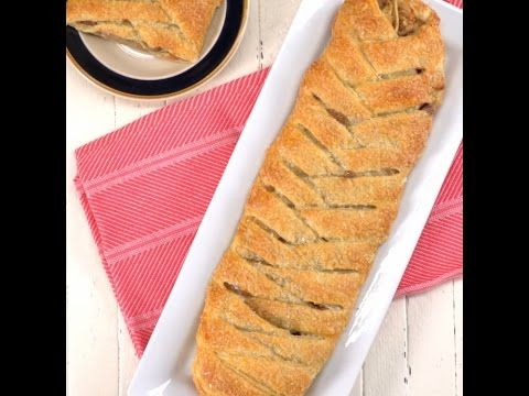 Ben je op zoek naar een lekker recept voor de feestdagen? Deze gevlochten appeltaart is oh zo makkelijk! - Zelfmaak ideetjes